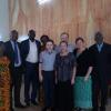 Tim was invited to preach at a church in Angre. Here we are with Pastor Mamour and the pastoral staff during the service - April 2017.