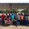 Thank you, Carthage, MO, for sending a building team! Here is the group standing in front of one of the tabernacles in Bouna, Ivory Coast!